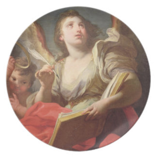 Allegory of Fame Party Plate