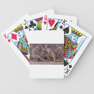 Allegory of Fecundity and Abundance Luca Signorell Bicycle Playing Cards