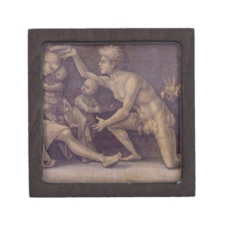 Allegory of Fecundity and Abundance Luca Signorell Jewelry Box