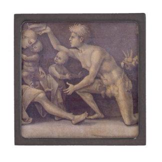 Allegory of Fecundity and Abundance Luca Signorell Keepsake Box