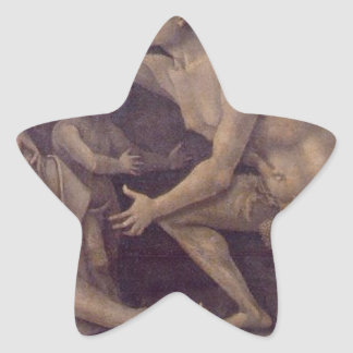 Allegory of Fecundity and Abundance Luca Signorell Star Sticker