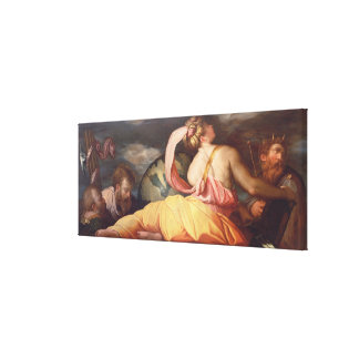 Allegory of Geography Canvas Print