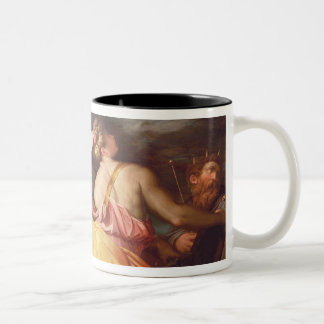 Allegory of Geography Two-Tone Coffee Mug