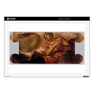 """Allegory of Goodness by Tintoretto 17"""" Laptop Decal"""