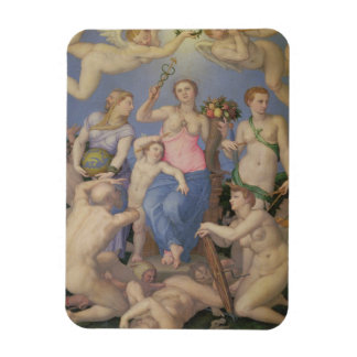 Allegory of Happiness, c.1567 (oil on copper) Magnet