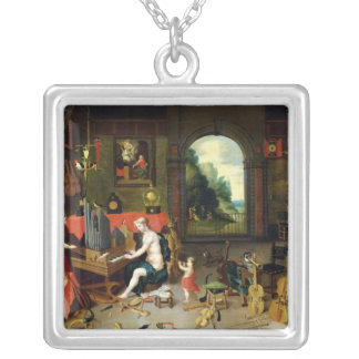 Allegory of Hearing Personalized Necklace