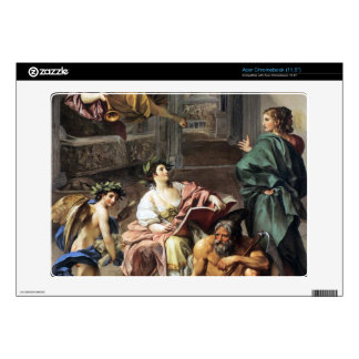 Allegory of History by Anton Raphael Mengs Acer Chromebook Skins