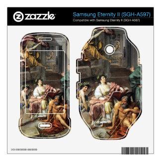 Allegory of History by Anton Raphael Mengs Samsung Eternity II Skins