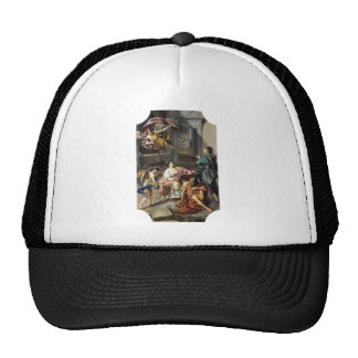 Allegory of History by Anton Raphael Mengs Trucker Hat
