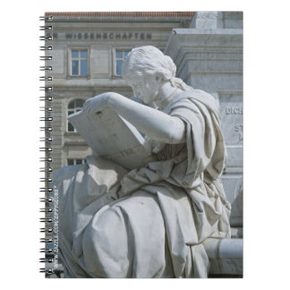Allegory of History of Schiller Monument in Berlin Notebook