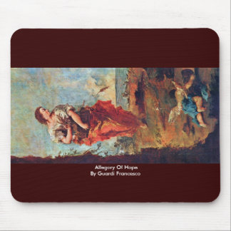 Allegory Of Hope By Guardi Francesco Mouse Pad