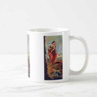 Allegory Of Hope By Guardi Francesco Classic White Coffee Mug