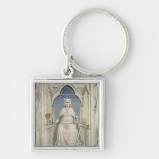 Allegory of Justice, c.1305 Keychain