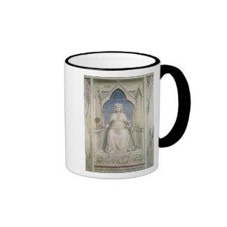 Allegory of Justice, c.1305 Ringer Coffee Mug