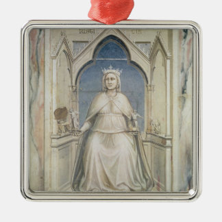 Allegory of Justice, c.1305 Christmas Tree Ornaments