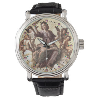 ALLEGORY OF JUSTICE WRISTWATCH