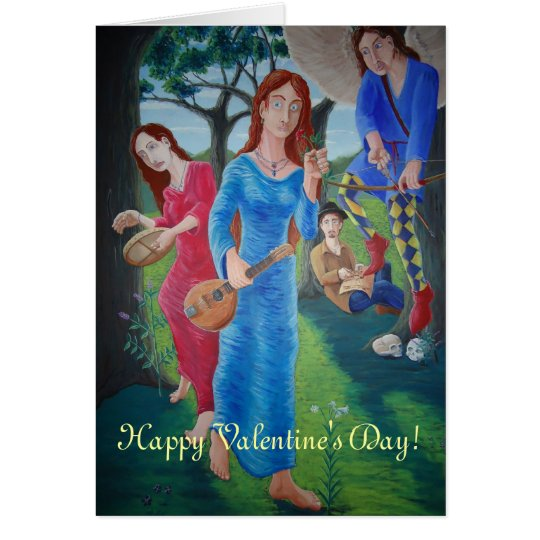 Allegory of Love Card