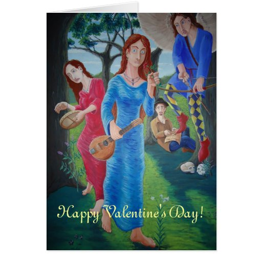 Allegory of Love Greeting Card