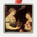 Allegory of Married life Metal Ornament
