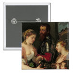 Allegory of Married Life Pinback Button
