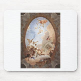 Allegory of Merit Accompanied by Nobility Mouse Pad