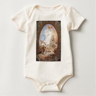 Allegory of Merit Accompanied by Nobility Baby Bodysuits