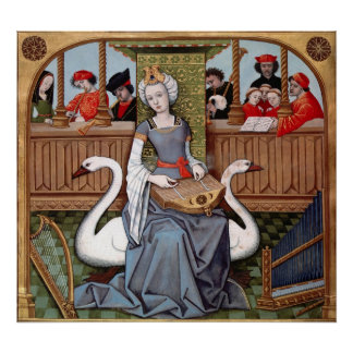 Allegory of Music Print