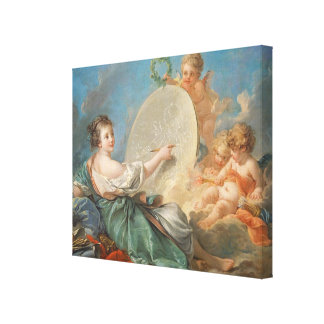 Allegory of Painting 1765 oil on canvas Gallery Wrap Canvas
