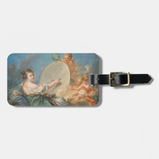 Allegory of Painting, 1765 (oil on canvas) Luggage Tag