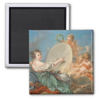 Allegory of Painting, 1765 (oil on canvas) Magnet