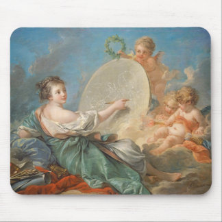 Allegory of Painting, 1765 (oil on canvas) Mouse Pads