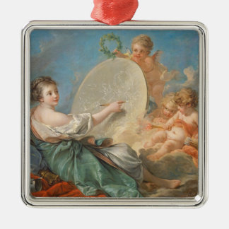 Allegory of Painting, 1765 (oil on canvas) Ornaments