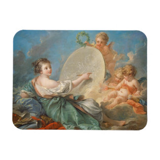 Allegory of Painting 1765 oil on canvas Magnet