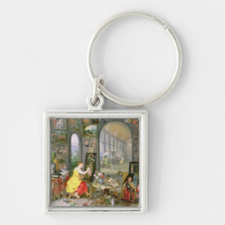 Allegory of Painting 2 Keychain