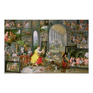 Allegory of Painting 2 Poster