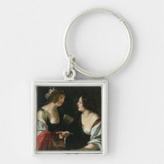Allegory of Painting and Architecture, c.1620 (oil Keychains