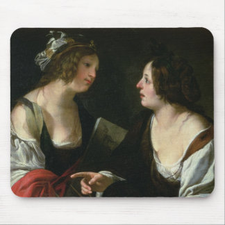 Allegory of Painting and Architecture, c.1620 (oil Mousepads