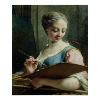 Allegory of Painting Poster