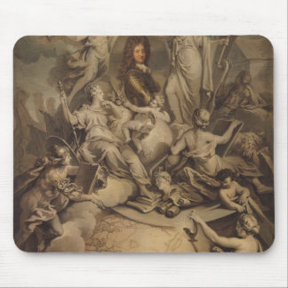 Allegory of Philippe II  Duke of Orleans, 1718 Mouse Pad