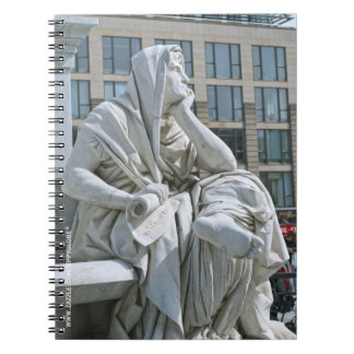 Allegory of Philosophy of Schiller Monument in Ber Notebook