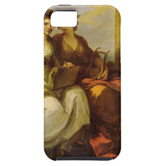 Allegory of poetry and music by Angelica Kauffman iPhone SE/5/5s Case