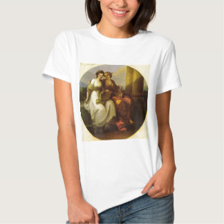 Allegory of poetry and music by Angelica Kauffman T Shirt