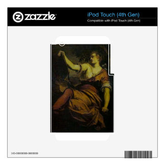 Allegory of Prudence by Tintoretto Skin For iPod Touch 4G