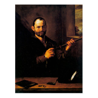Allegory of Sight by Jusepe de Ribera Postcard