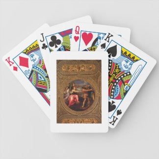Allegory of Speed, Toil and Exercise, from the cei Bicycle Playing Cards