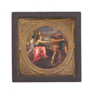 Allegory of Speed, Toil and Exercise, from the cei Jewelry Box