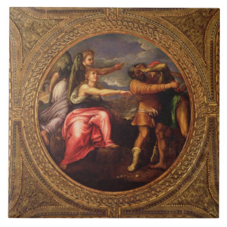 Allegory of Speed, Toil and Exercise, from the cei Tile