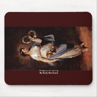 Allegory Of Spring By Rode Bernhard Mousepads