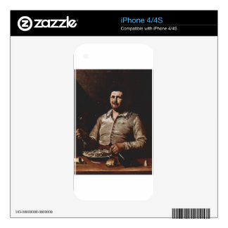 Allegory of Taste by Jusepe de Ribera Decals For The iPhone 4S