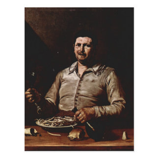 Allegory of Taste by Jusepe de Ribera Postcard